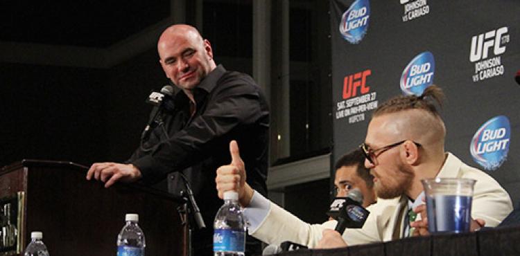 Rockstar UFC employee Conor McGregor