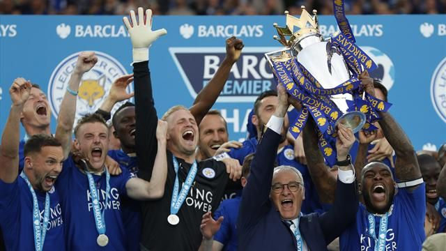 Leicester City EPL Champions 2016